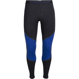 Icebreaker 200 Oasis Deluxe Leggings Herren midnight navy/surf